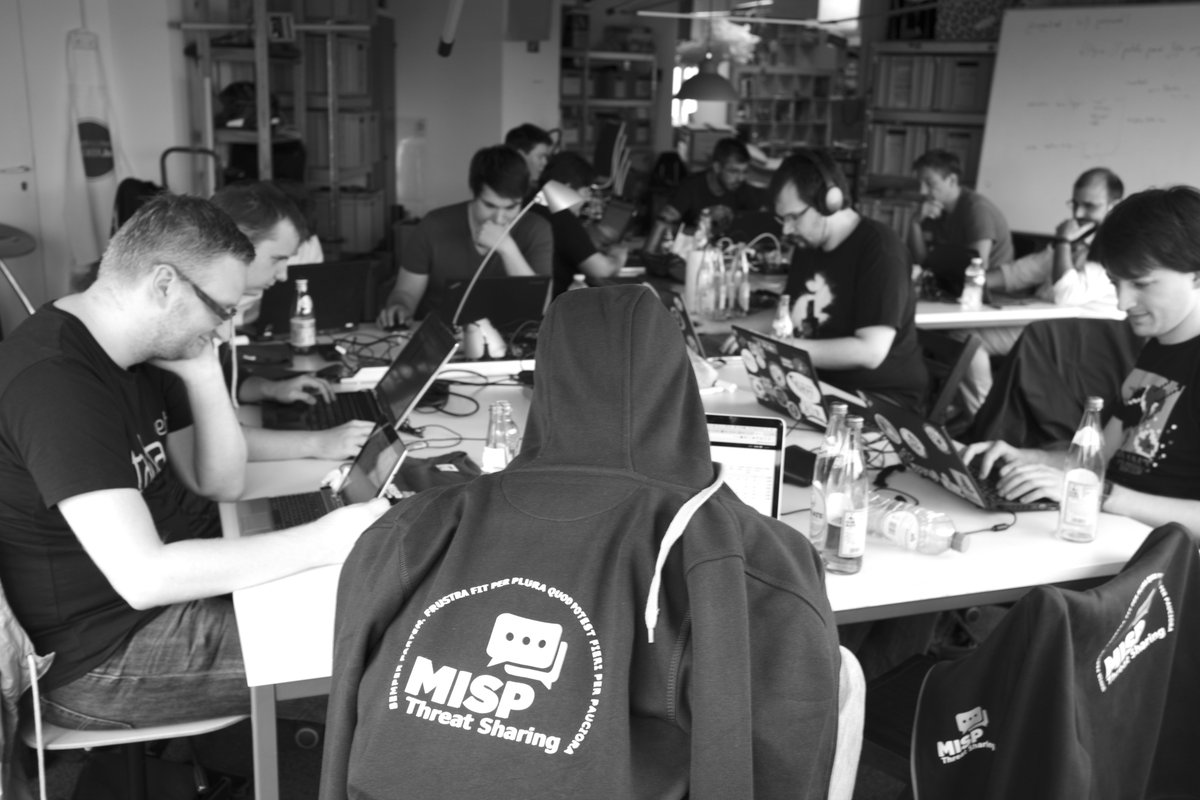 MISP first Hackathon 2016 in Luxembourg